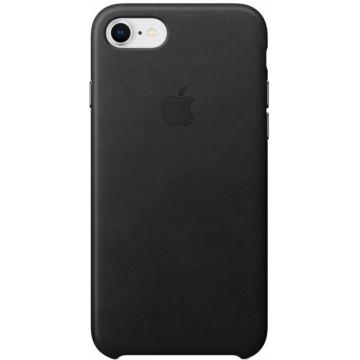 Клип-кейс Apple Leather Case для iPhone 7/8 (черный)