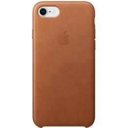 Клип-кейс Apple Leather Case для iPhone 7/8 (золотисто-коричневый)