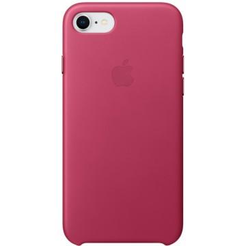 Клип-кейс Apple Leather Case для iPhone 7/8 (розовая фуксия)