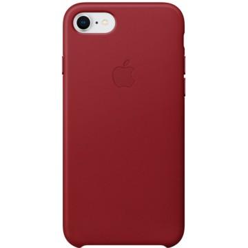Клип-кейс Apple Leather Case для iPhone 7/8 (красный)