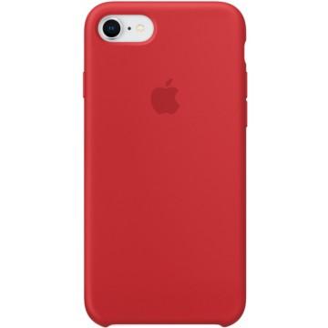 Клип-кейс Apple Silicone Case для iPhone 7/8 (красный)
