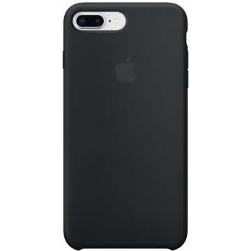Клип-кейс Apple Silicone Case для iPhone 8 Plus/7 Plus (черный)