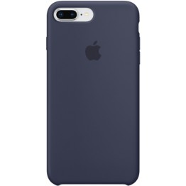 Клип-кейс Apple Silicone Case для iPhone 8 Plus/7 Plus (темно-синий)