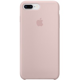 Клип-кейс Apple Silicone Case для iPhone 8 Plus/7 Plus (розовый песок)
